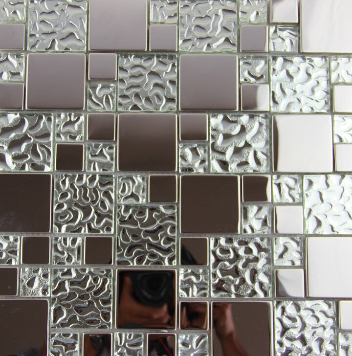 glass wall tiles kitchen glass metal mosaic tile kitchen backsplash bathroom 3829