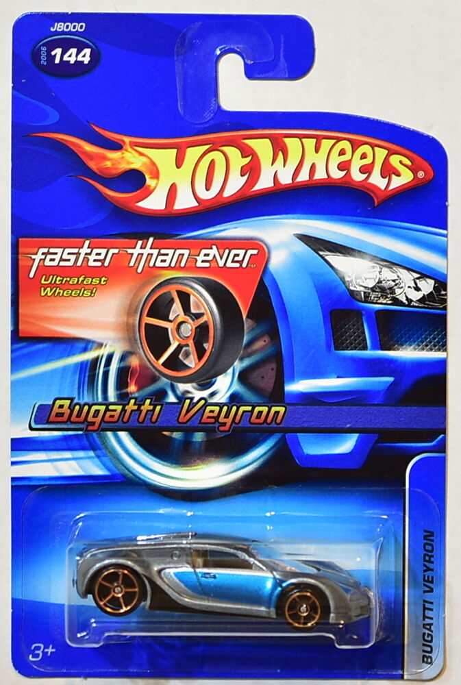 hot wheels 2006 fte bugatti veyron 144 ebay. Black Bedroom Furniture Sets. Home Design Ideas