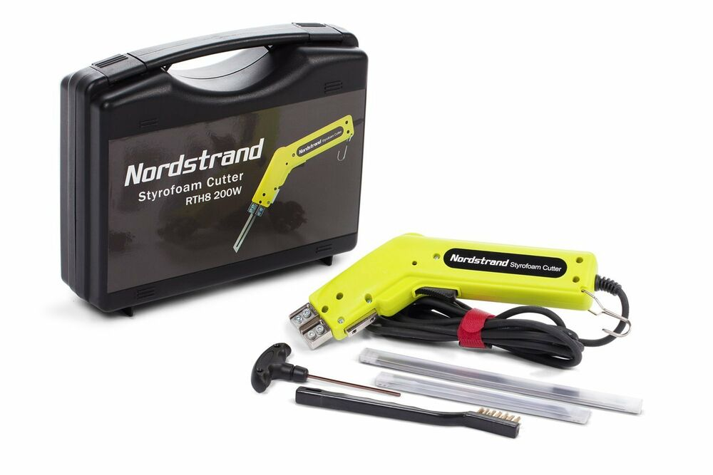 foam cutter 200w nordstrand pro electric hot knife styrofoam foam cutter tool 2 blades