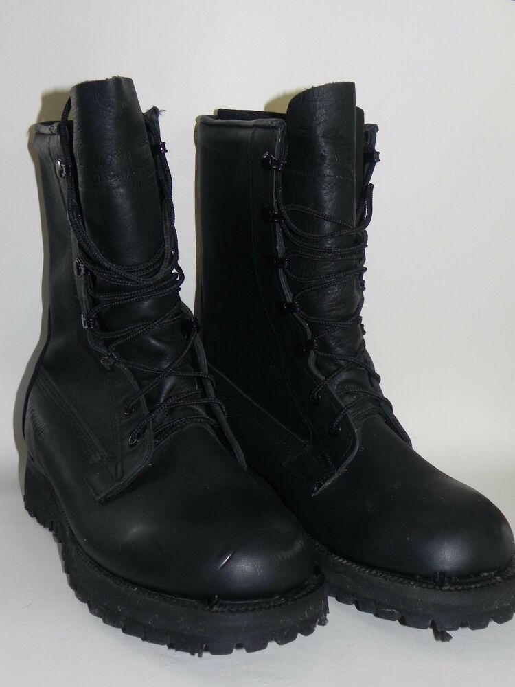 New Belleville Black Gore Tex Insulated Combat Boots Mens