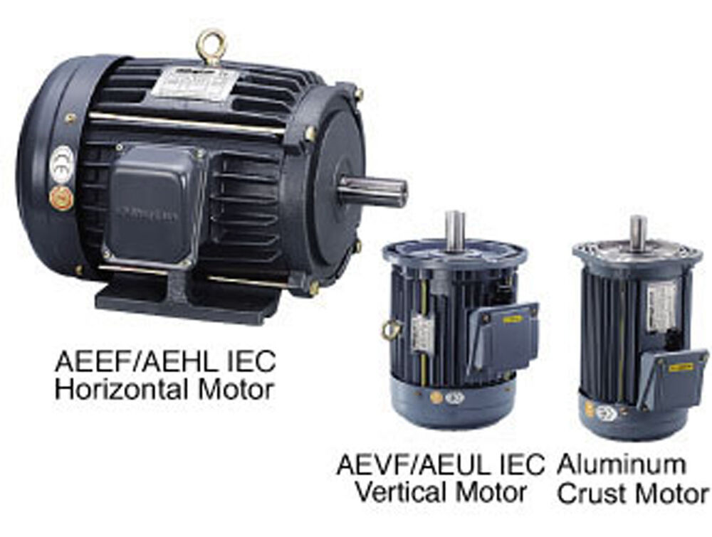 Minglun Ac Iec Induction Motor Aevf Motor 1 2 Hp 4p 230