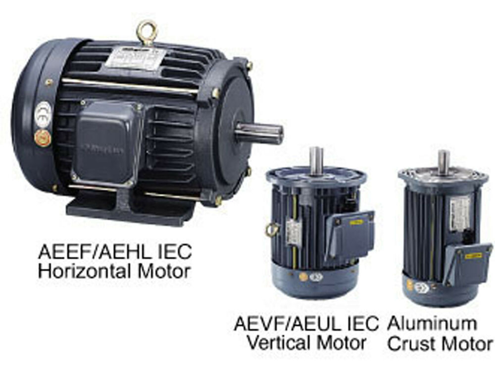 Minglun ac iec induction motor aevf motor 1 2 hp 4p 230 for 1 2 hp ac motor