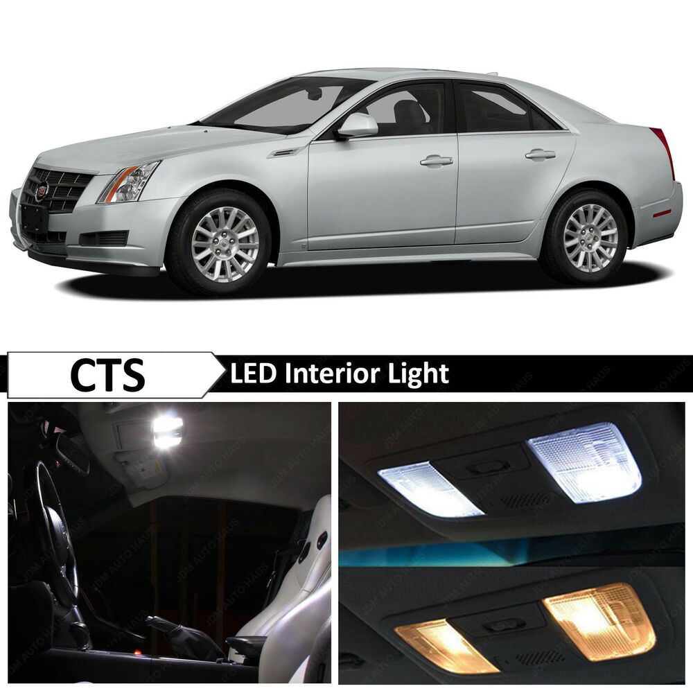 16x White Interior LED Lights Package Kit For 2003-2007
