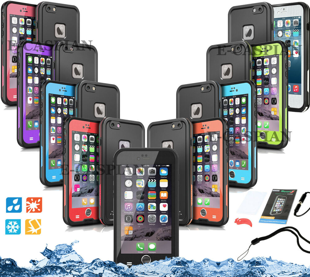 lifeproof case iphone 6 waterproof shockproof for iphone 6 6s plus fits 15620