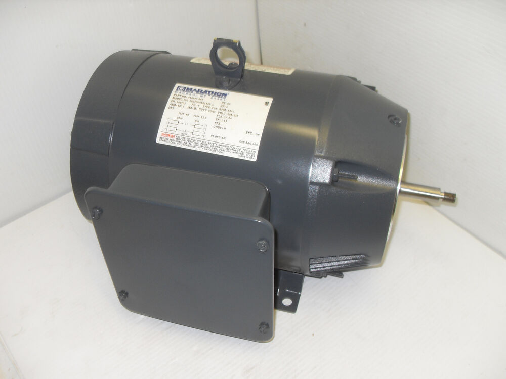 New Marathon Evc 182tcdr8016ap 5 Hp Electric Motor 410197