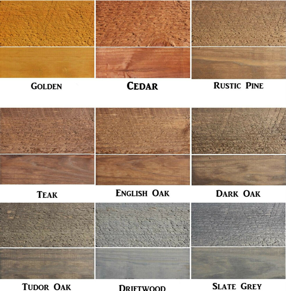 Exterior White Stain For Wood: FENCE SHED DECKING WOOD