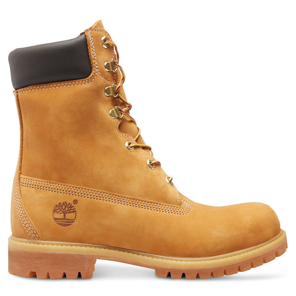 s timberland 8 inch basic boot wheat suede waterproof