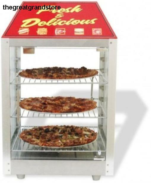 Countertop Food Warmers ~ Commercial countertop food warmer pizza display case