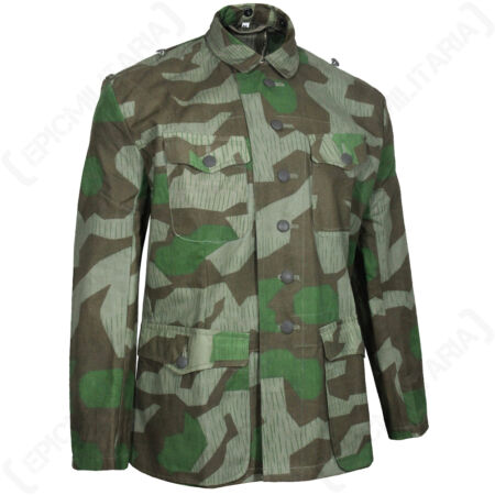 img-WW2 GERMAN SPLINTER CAMO FIELD BLOUSE - Repro Military Army Jacket Coat Heer New