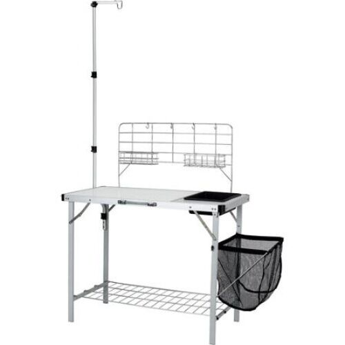 Camp Kitchen With Sink: Ozark Trail Portable Camp Kitchen And Sink Table