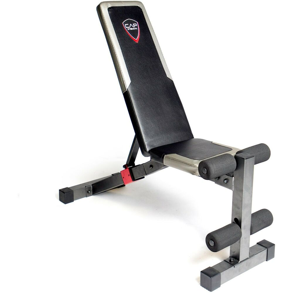 Weight Bench Heavy Duty Adjustable 6 Back Positions Home Gym Workstation Workout Ebay