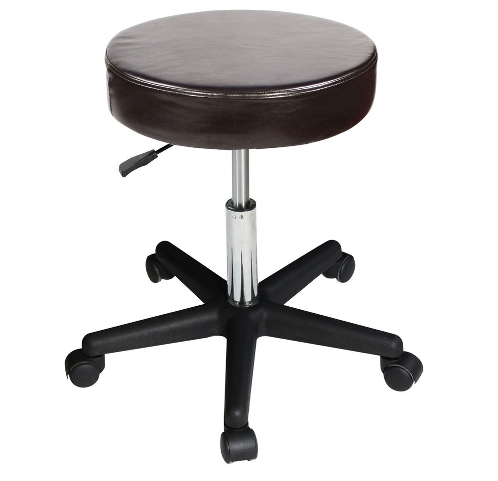 Master Massage Hydraulic Adjustable Stool Luster Swivel