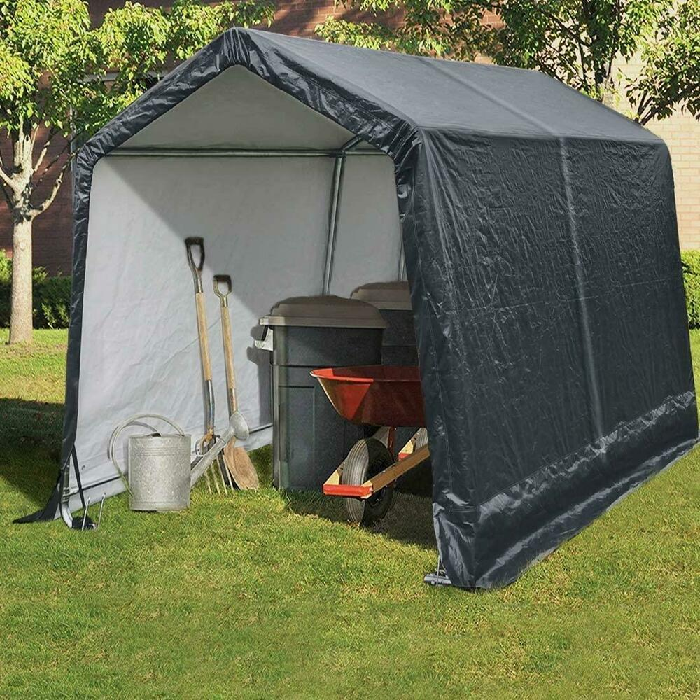 Heavy Duty Shelter : Quictent  heavy duty carport garage storage car