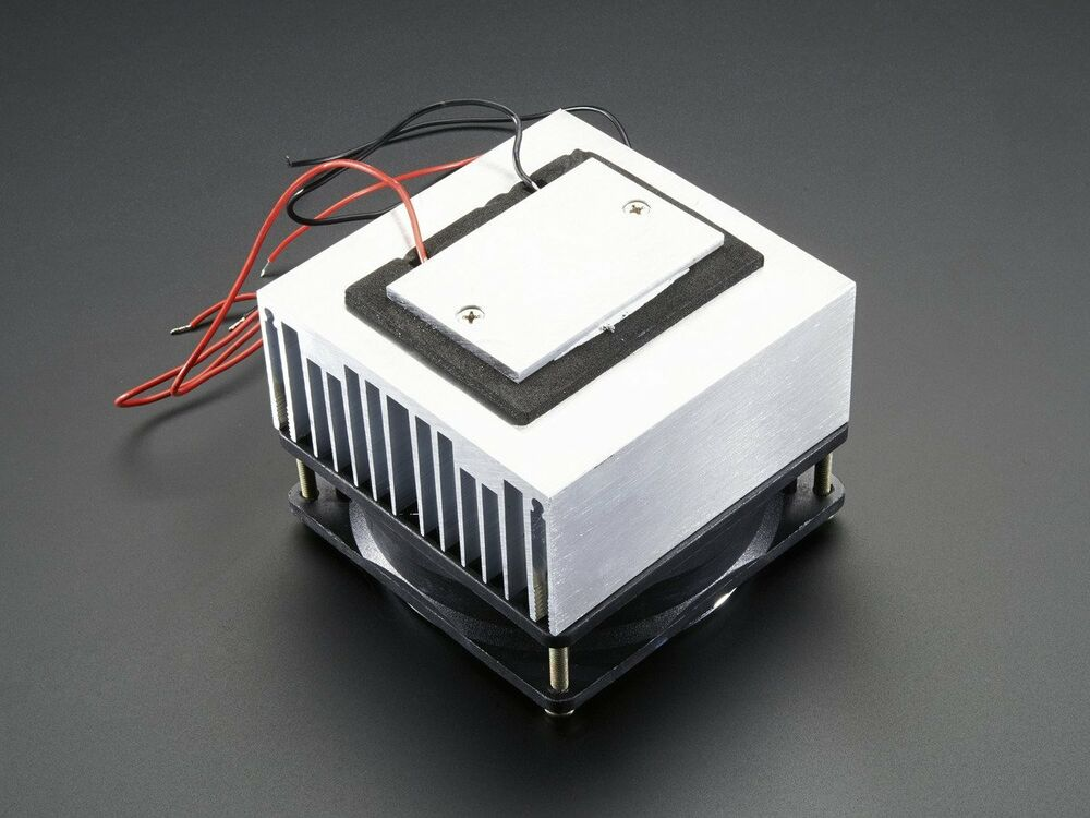 Peltier Thermoelectric Cooler Module Heatsink And Fan