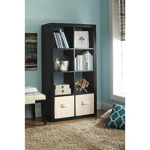 Better homes and gardens 8 cube organizer multiple colors - Better homes and gardens bookshelf ...