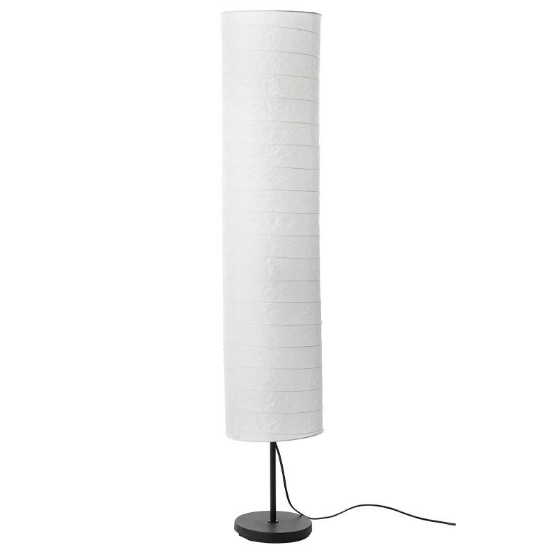 ikea holm stehlampe standleuchte aus papier standlampe. Black Bedroom Furniture Sets. Home Design Ideas
