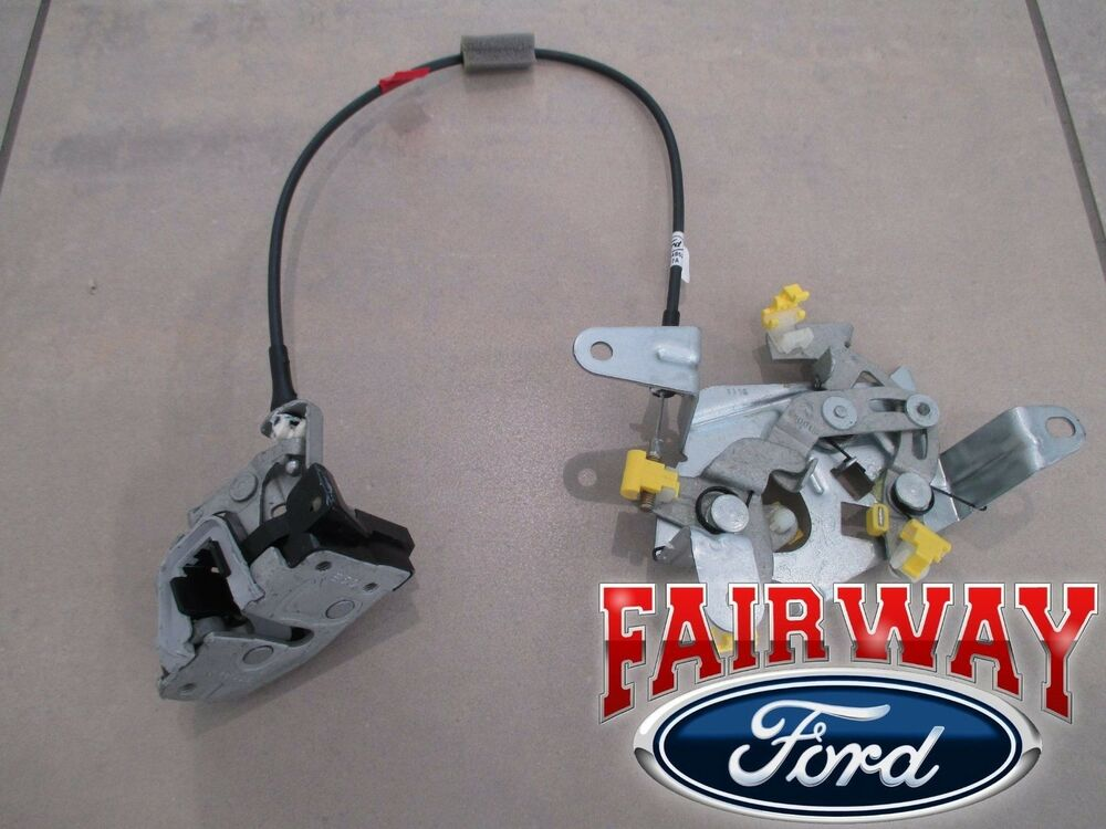 97 Thru 03 F 150 Oem Ford Passenger Rh Rear Door Lower