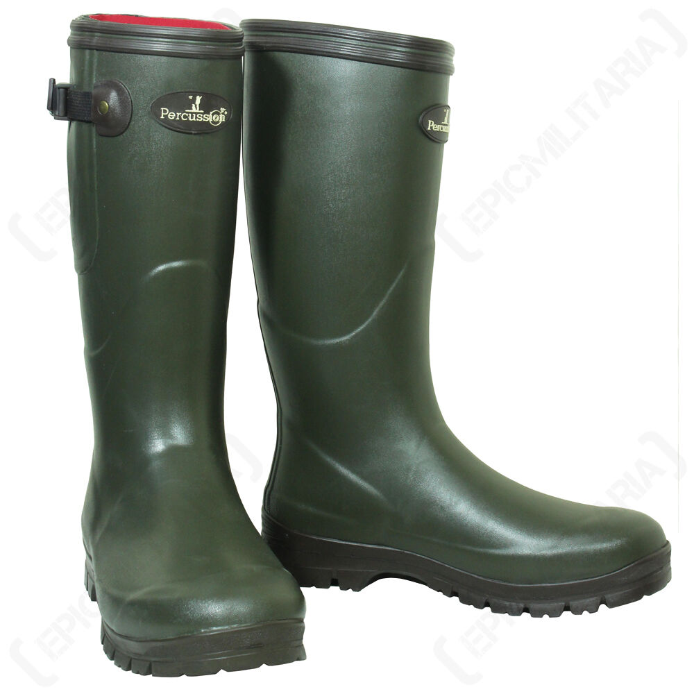 Percussion Sologne Neoprene Hunting Wellington Boots
