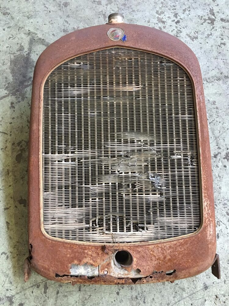 Chrysler 300 Accessories >> Rare 1925 Chrysler Four Grill shell Radiator Original VTG 20's Hot Rod SCTA 32 | eBay