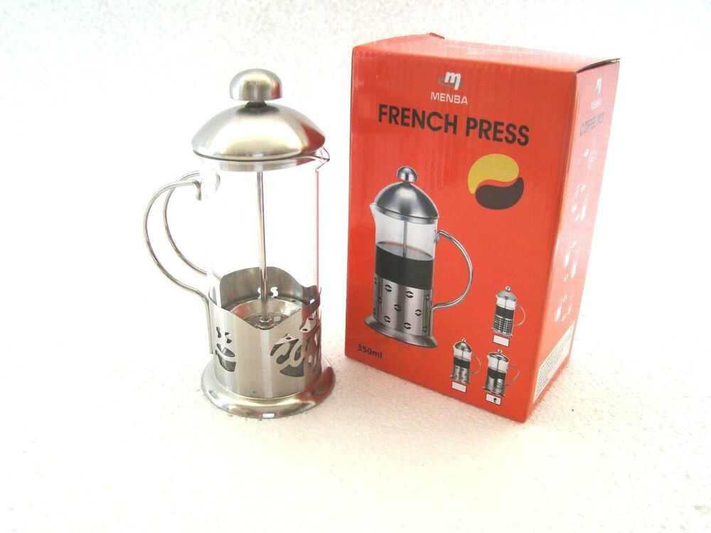 French Press Coffee Maker Cholesterol : French Press Coffee and Herbal Tea Maker 350 ml / 600 ml eBay