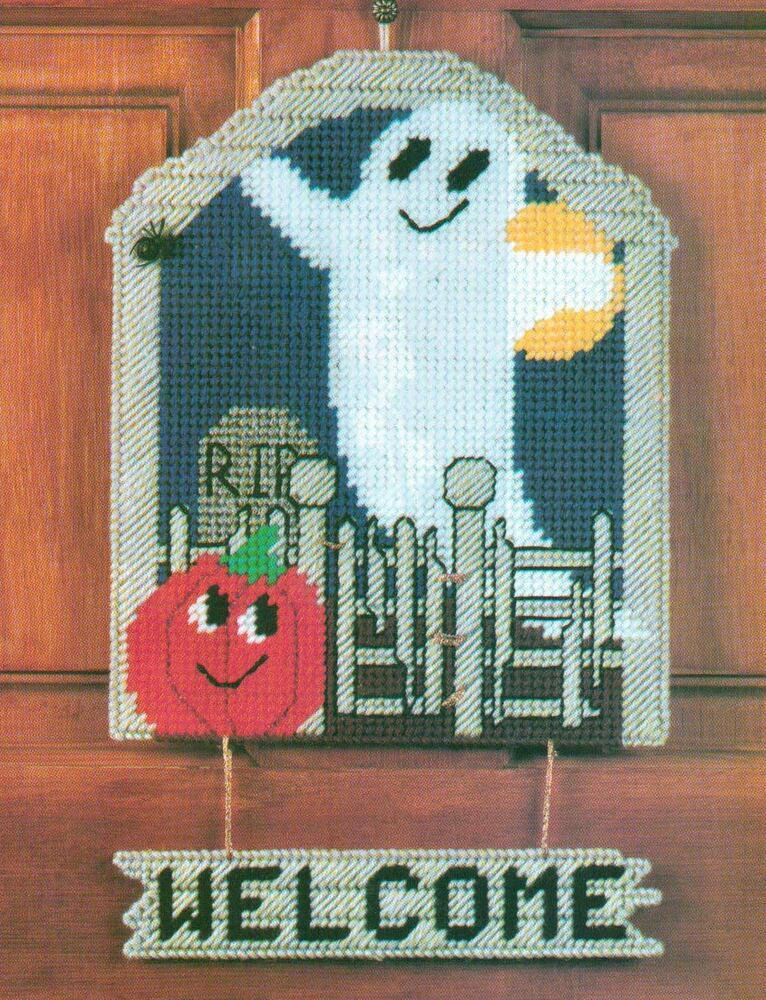 Rare image intended for free printable halloween plastic canvas patterns