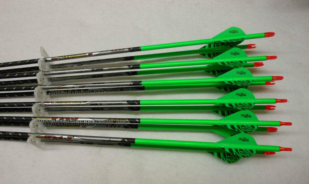 arrows easton fletched carbon metal jacket 400 wraps 340 vanes axis archery blazer blazers dozen hunting amazon