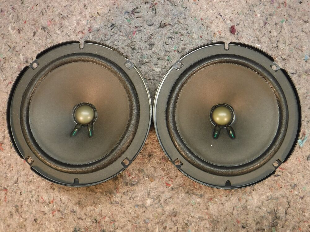 """Bose Speakers For Cars: 1 PAIR BOSE 6.5"""" MIDBASS OEM CAR SPEAKERS 2 OHM 25W AUDI"""