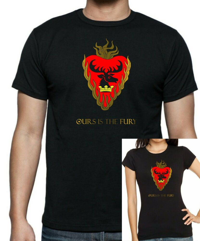Game of thrones stannis baratheon t shirt up to 5xl free for Game t shirts uk