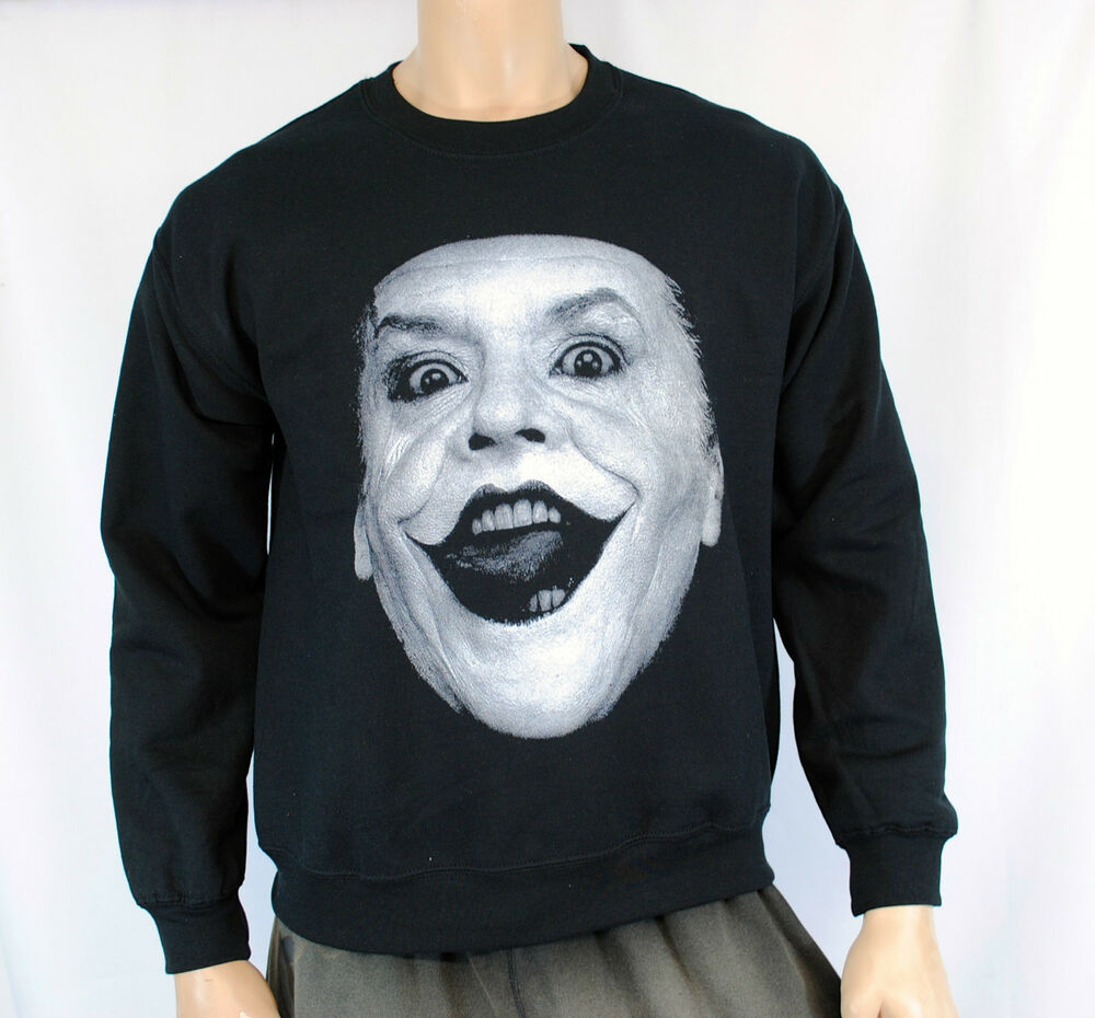 The Joker Jack Nicholson Batman Crewneck Sweatshirt Dark
