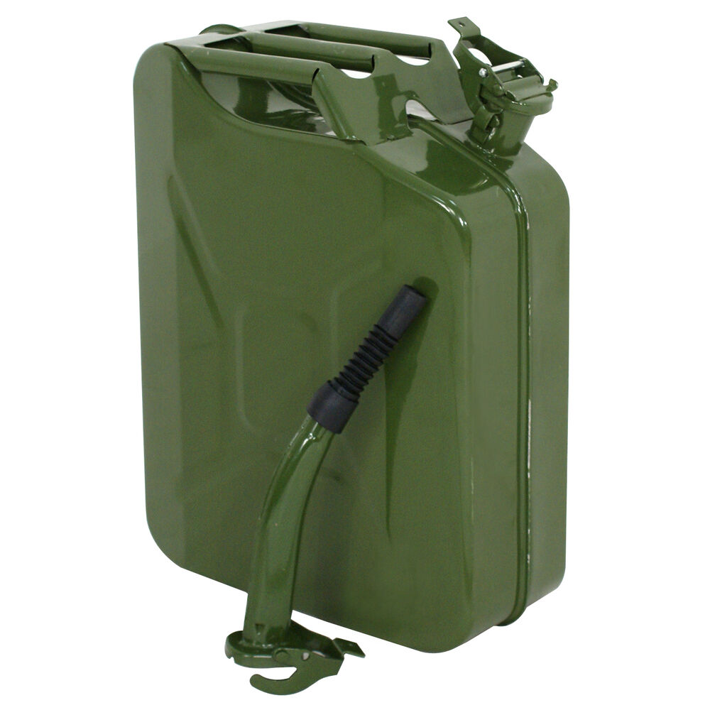 20L Jerry Can 5 Gallon Gas Fuel Can NATO Style Military ...