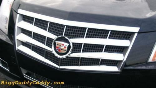 Cadillac Cts 2008 2009 2010 2011 Abs Chrome Grille Overlay