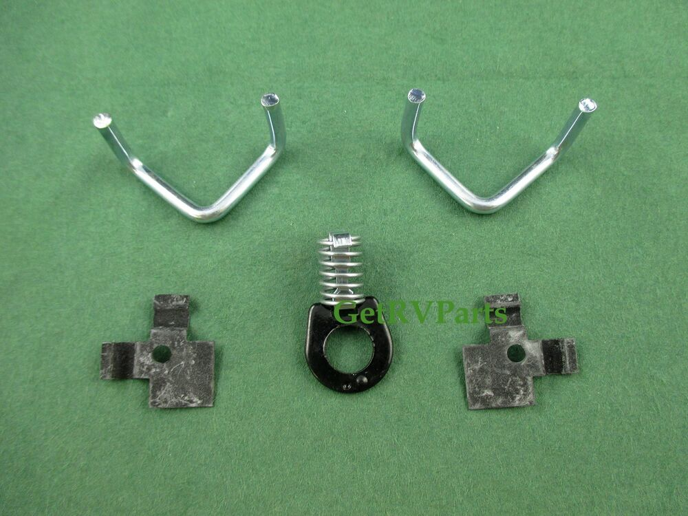 New Atwood 91858 Rv Water Heater Door Hinge Amp Latch