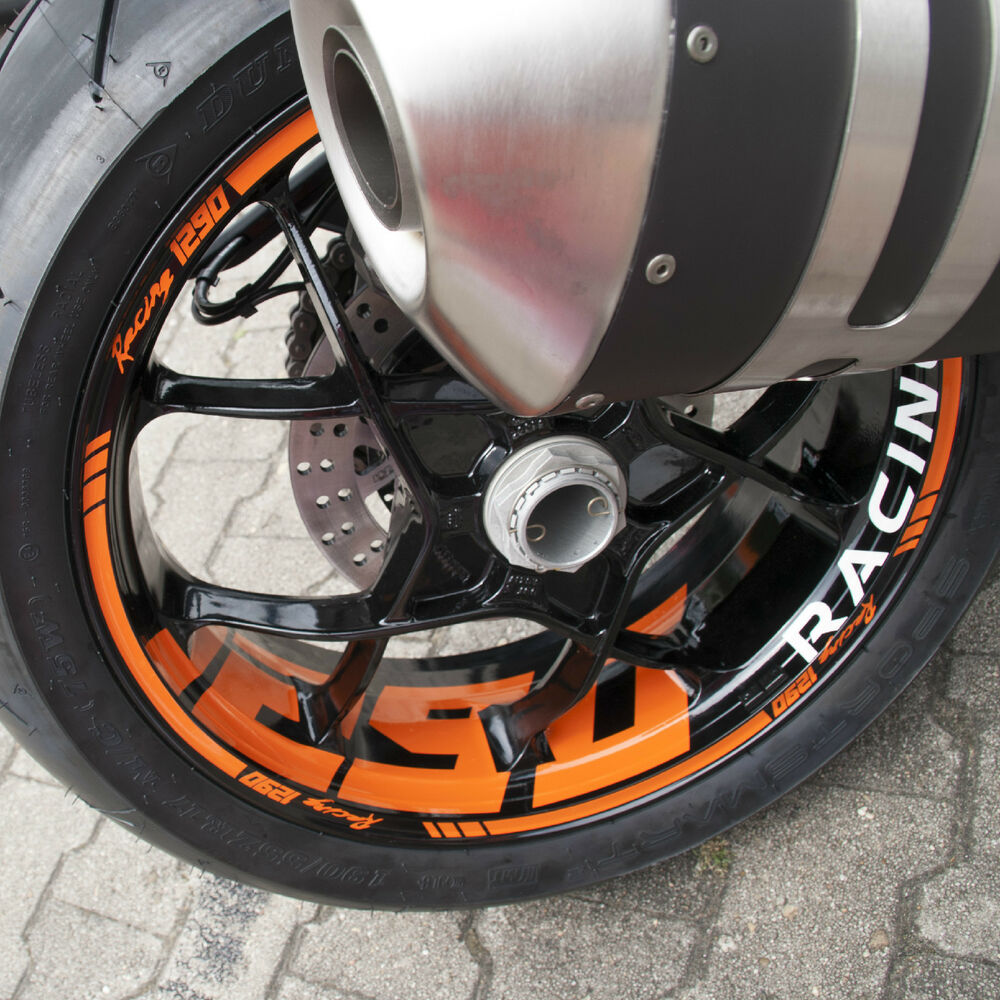 Details about wheel rim stripes for ktm superduke sd 1290 r sdr decal tape sticker supermoto