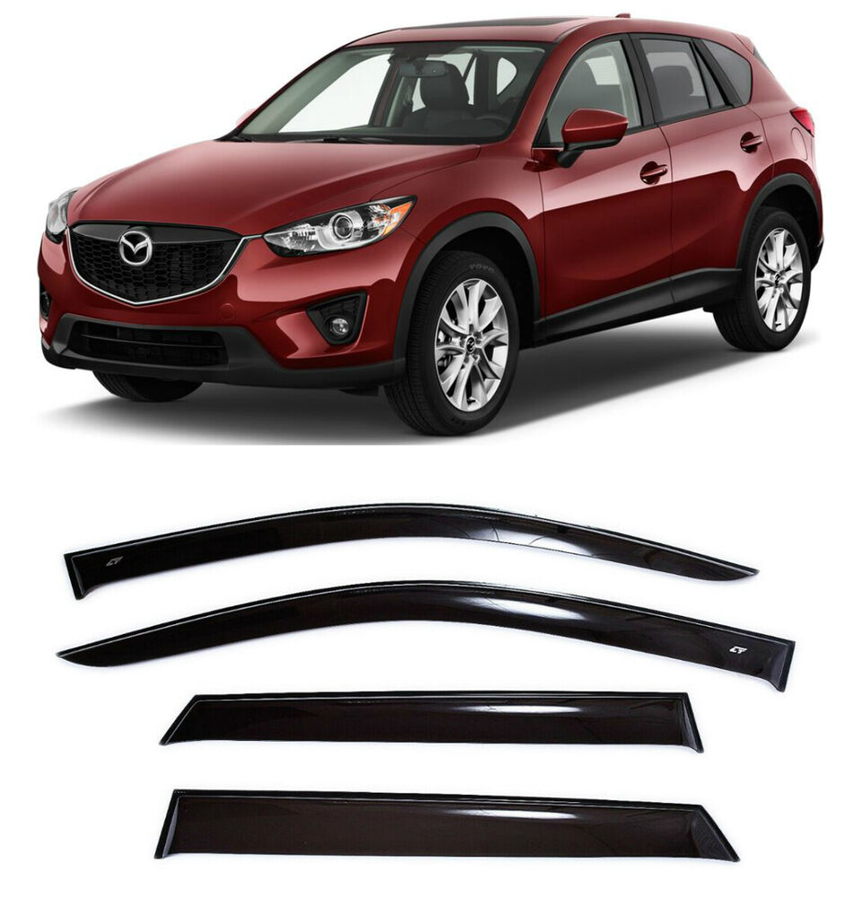 For Mazda Cx 5 Cx5 2011 2016 Window Visors Side Sun Rain