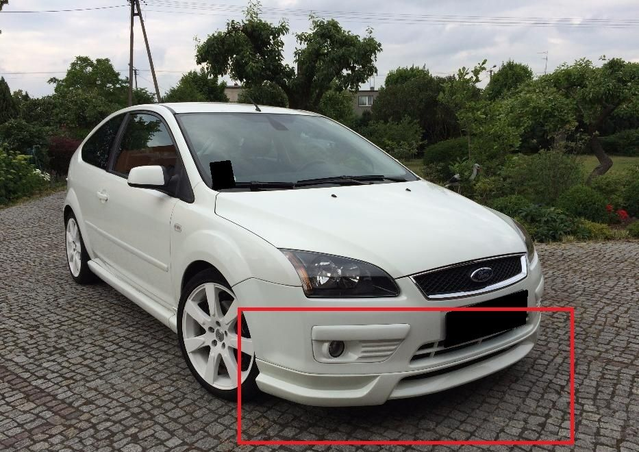 FORD FOCUS 2 MK2 FULL BODY KIT: FRONT AND REAR BUMPER ...