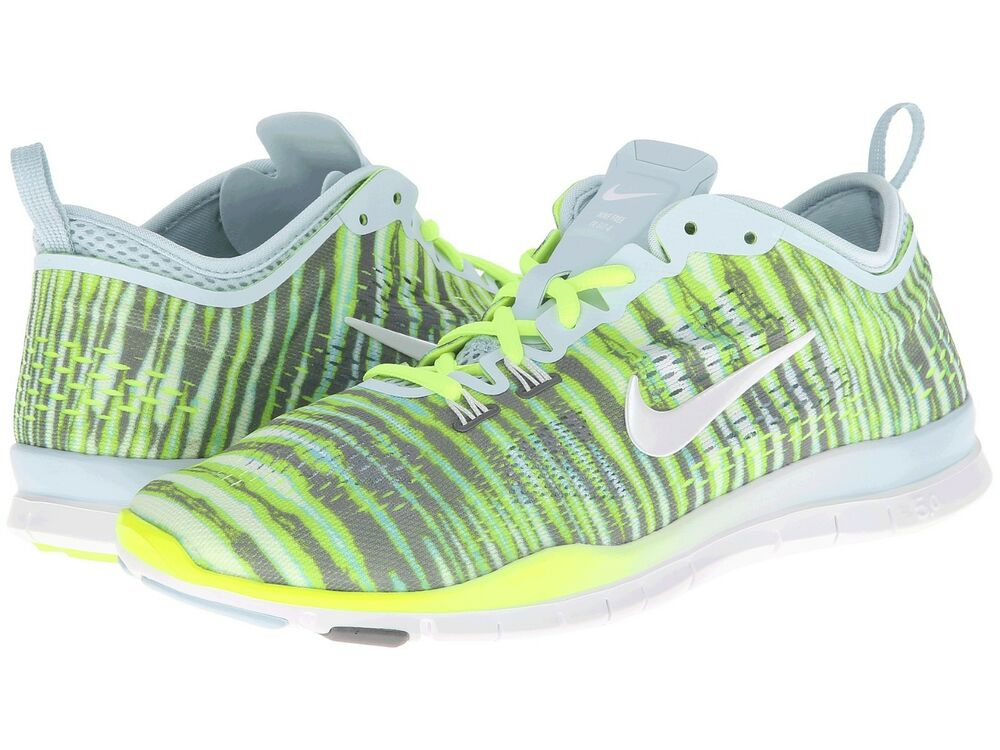 e166c34ee2b21 Details about Women s Nike Free 5.0 TR Fit 4 Print Training Shoes