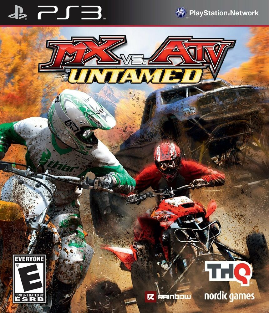 Playstation 3 Ps3 Game : Mx vs atv untamed ps new dirt bikes mud offroad