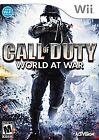 Call of Duty World at War -- Nintendo Wii Game -- GOOD CONDITION