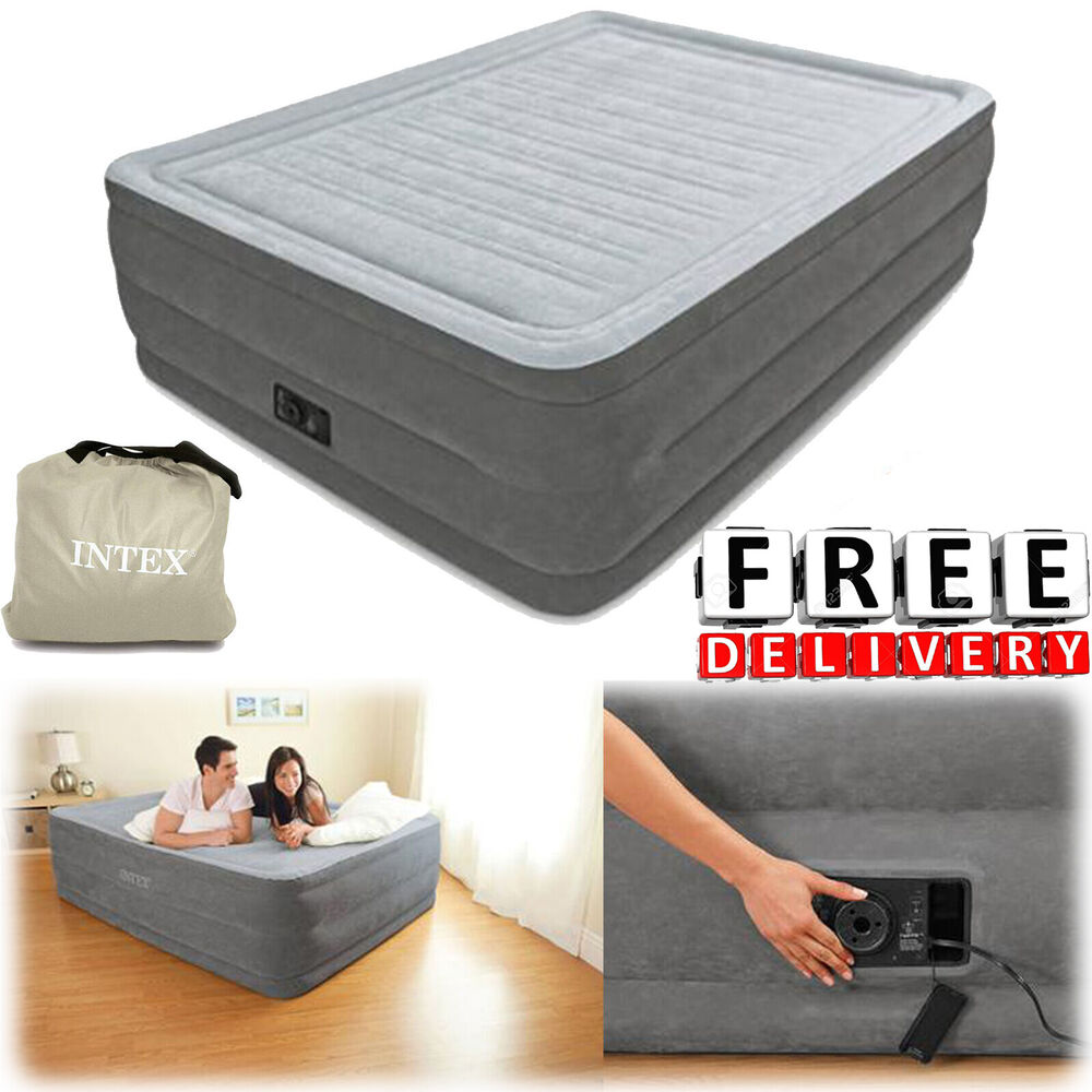 Queen Air Mattress 20 Quot Raised Full Size Aerobed Intex
