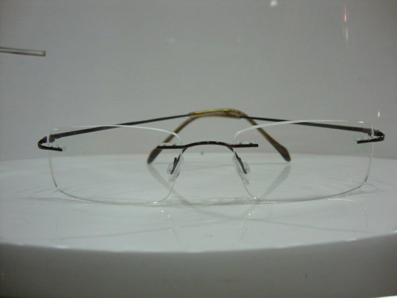 RIMLESS TITANIUM TRANSITIONS BIFOCALS Reading Glasses eBay