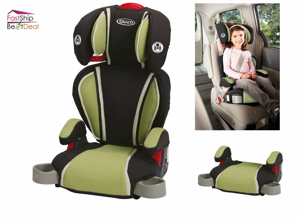 graco highback turbobooster child car seat backless booster kids safely travel 47406124558 ebay. Black Bedroom Furniture Sets. Home Design Ideas