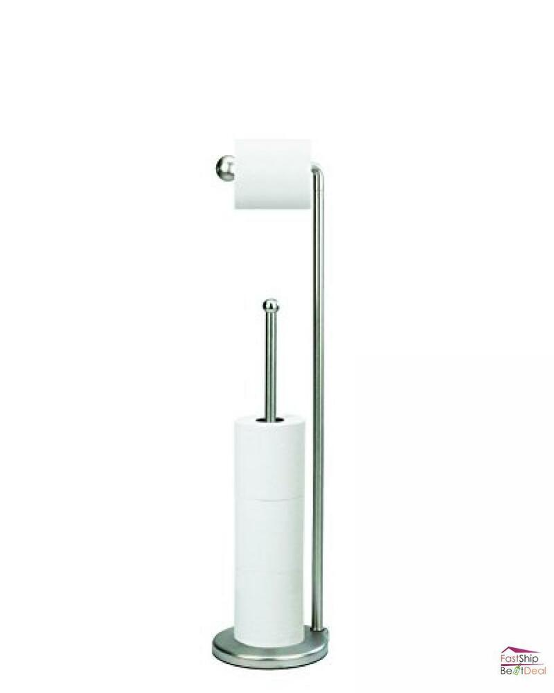 Bathroom toilet tissue paper holder free standing with Toilet paper holder free standing