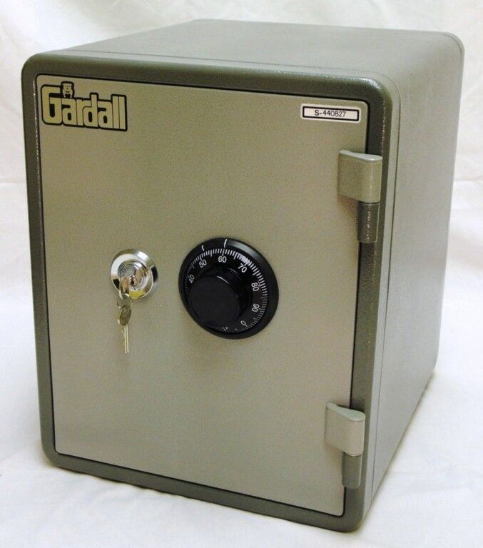 Gardall Ms129 G Ck 1 Hour Fire Safe Dial Key Combo New Ebay