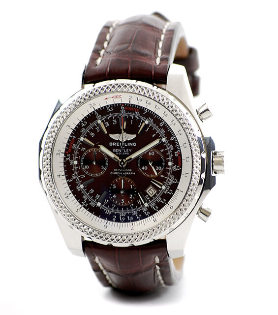 Breitling bentley motors stainless steel bronze havana for Breitling watches bentley motors special edition a25362