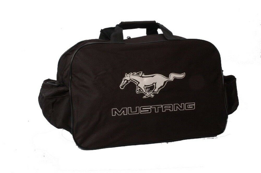 Ford Mustang Travel Gym Tool Duffel Bag Flag Shelby