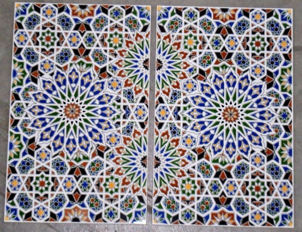 Decorative Ceramic Tiles Large Mosaic Kitchen Bathroom Backsplash Wall Mural Ebay