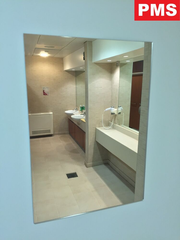 A3 A4 Acrylic Mirror Sheets Anti Shatter Safety Mirror