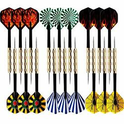 Kyпить 18 pcs(6 sets) of Steel Tip Darts Slim Barrel With Nice Dart Flights US Shipping на еВаy.соm