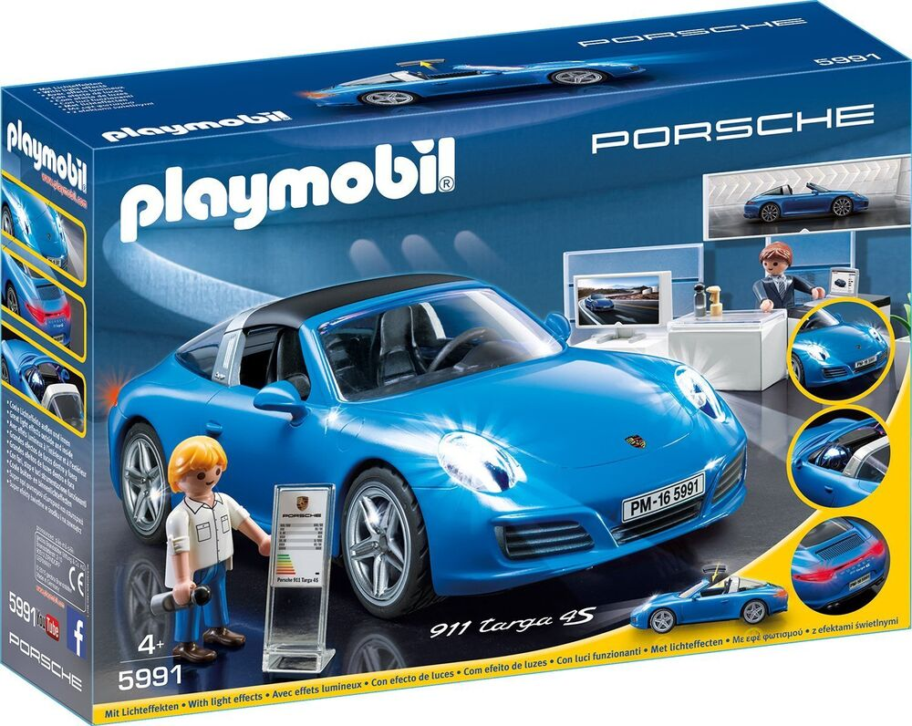 playmobil 5991 porsche 911 targa 4s new sealed new. Black Bedroom Furniture Sets. Home Design Ideas