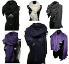 Sciarpa - scialle Made in Italy Mohair Scarf Donna Lana Pashmina DD